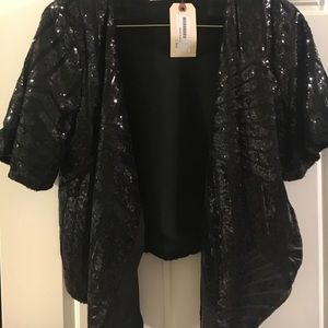Sequin Cardigan, Buddy Love Size Med NWT